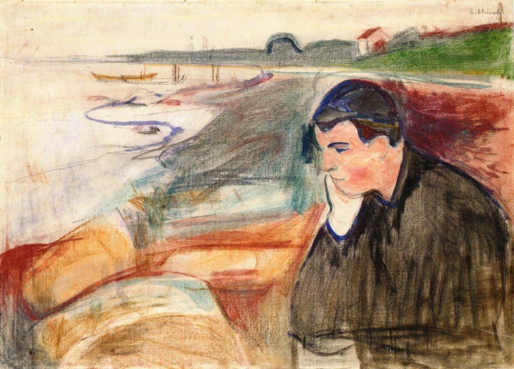 Munch-Malinconia-pittura-quadro-tristezza