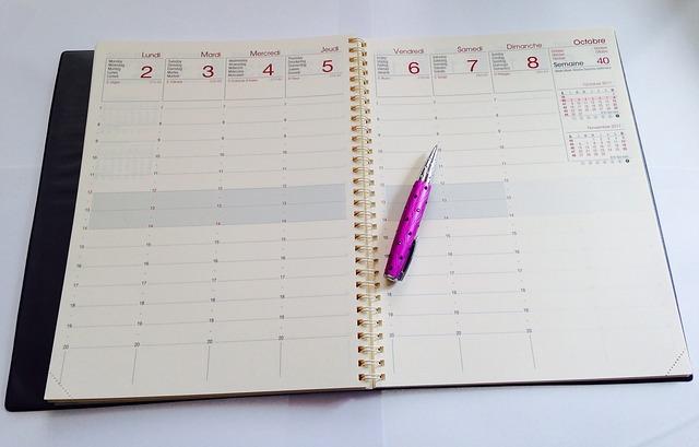 registro-agenda-settimana-appunti