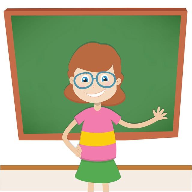 maestra-scuola-sorriso-lavagna