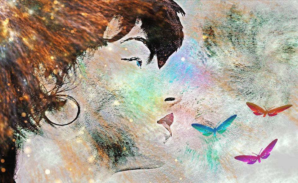 donna-farfalle